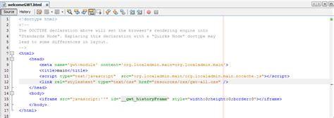 css gwt tutorial tutorial construyendo aplicaciones con java y gwt dw