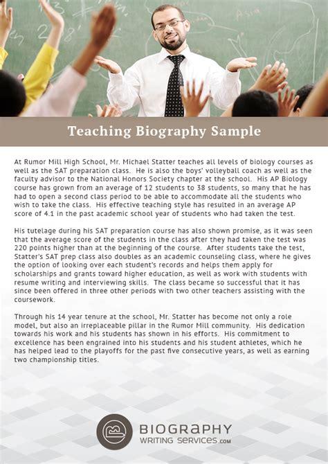 biography templates for teachers wonderful teacher bio template images resume ideas