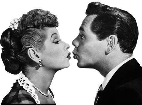 lucille ball and ricky ricardo desi arnez i love lucy kiss lucille ball image