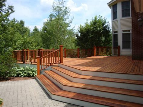deck design ideas unique deck ideas outdoortheme