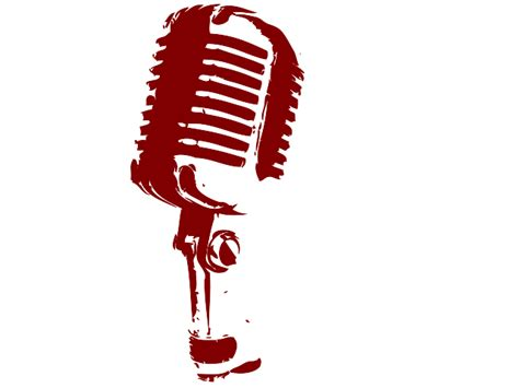 Vintage Microphone Clipart microphone clipart best