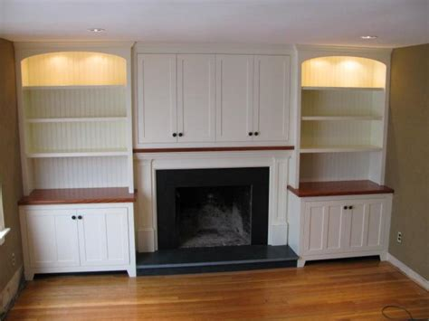 Fireplace Cabinetry Design Ideas
