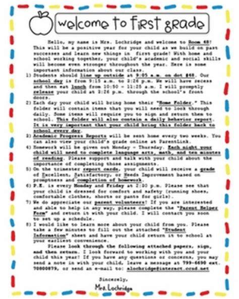 best 25 preschool welcome letter ideas on