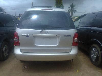 mazda space wagon mpv mazda space wagon 2003 model for sale autos nigeria