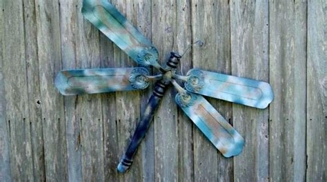 Ceiling Fan Dragonfly by Dreamy Dragonflies For The Garden Flea Market Gardening