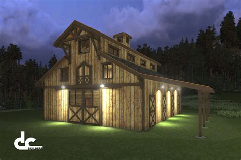 barn living horse barns with living quarters horse barn designs