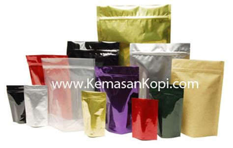 Kemasan Side Gusset 100g stand up pouches