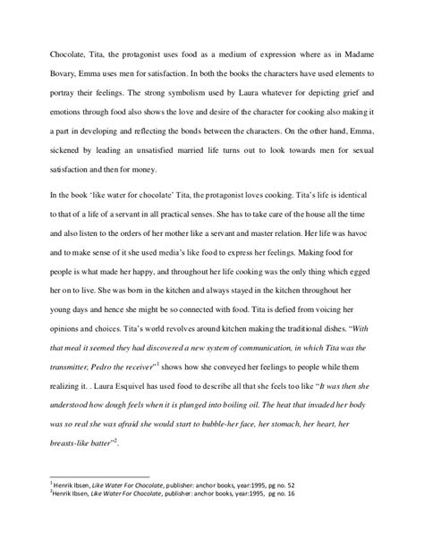 Like Water For Chocolate Essay by Like Water For Chocolate Essay Topics Thin