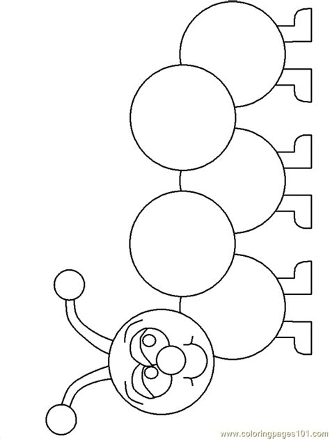 A Caterpillar Cocoon Coloring Page Coloring Pages In Caterpillar Coloring Pages