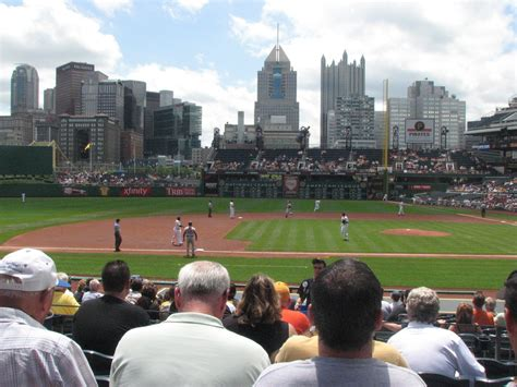 Pnc Park Section 123 by The View From Your Seat Camden Chat