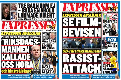 Expressen avslöjar SD   Thomas Mattsson ? Bloggen om Expressen