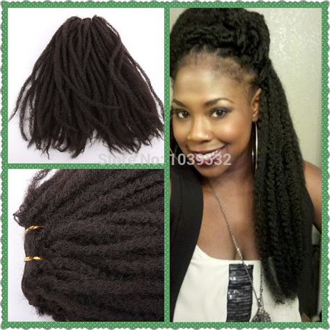 can i dye marley hair synthetic hair afro kinky weft marley braiding hair black