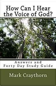 31 days of hearing god speak books how can i hear the voice of god answers and forty day