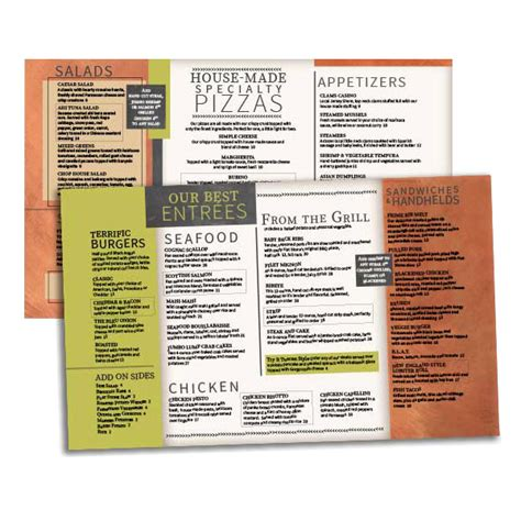 menu design products horizontal bistro menu design menubuilder