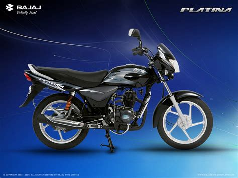 Motorcycle Pictures: Bajaj Platina 100
