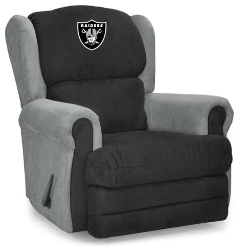 Raiders Recliner by Oakland Raiders Coach Recliner Recliner