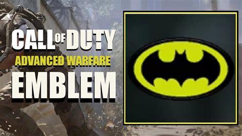 tutorial logo batman cod aw call of duty advanced warfare batman logo