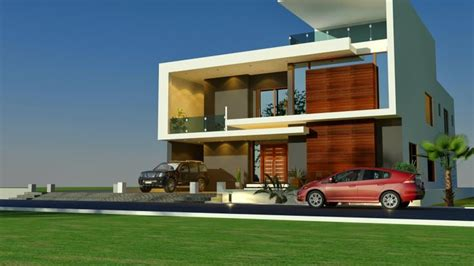 modern bungalow elevation 3d front elevation house home contemporary modern