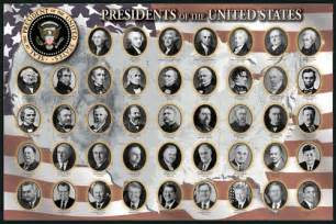 newseum store presidents of the united states poster