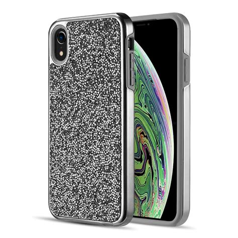 iphone xr platinum collection hybrid bumper walmart