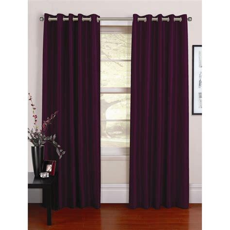 grapevine curtains urban living venezia grape silk readymade eyelet curtains