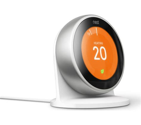 Buy NEST Learning Thermostat   3rd Generation, Silver   Free Delivery   Currys