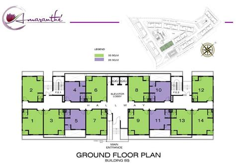 building ground floor plan amaranthe paranaque metro manila philippine realty group