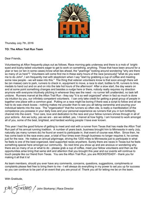 thank you letter to for hike thank you letter to for hike 28 images thank you
