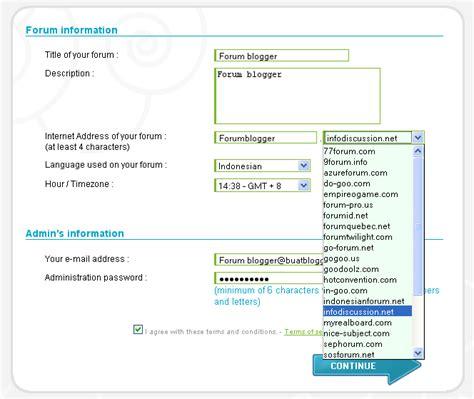 cara membuat web forum gratis cara membuat forum gratis arief fahmi f