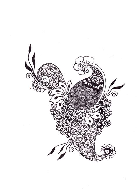 henna design with pen pen ink henna design on behance