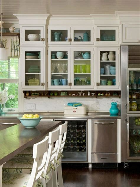 Modern Kitchen Cabinets Glasschr 228 Nke Und Vitrinen 20 Design Ideen F 252 R Die