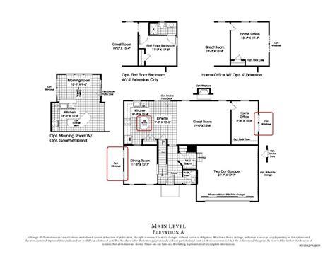 floor plan source beautiful ryan homes sienna floor plan new home plans design