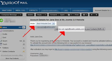 yahoo email not sending 306 joomla 3 1 error could not instantiate mail