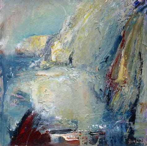 For Sale Abstract Landscape Paintings An Intimate Place Semi Abstract Landscape Painting