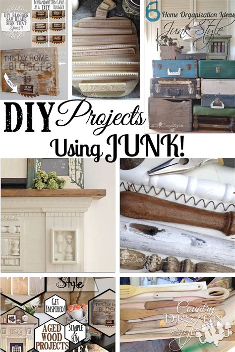 Diy Table Bench by Junk Country Design Style