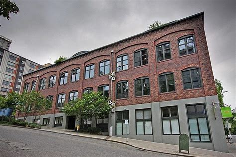 belltown loft w exposed brick 15 ceilings concrete