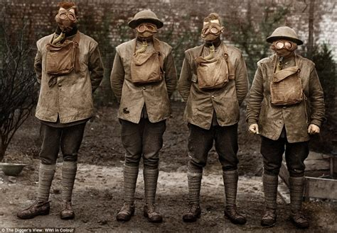 wwi in color australian troops during the world war in amazing