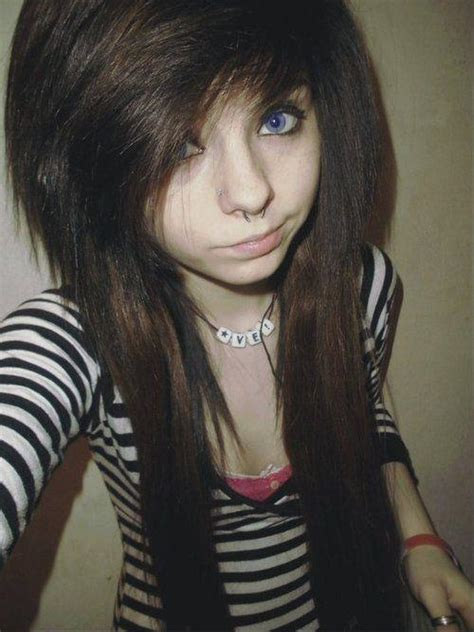 emo hairstyles brown hair hairstyles how to