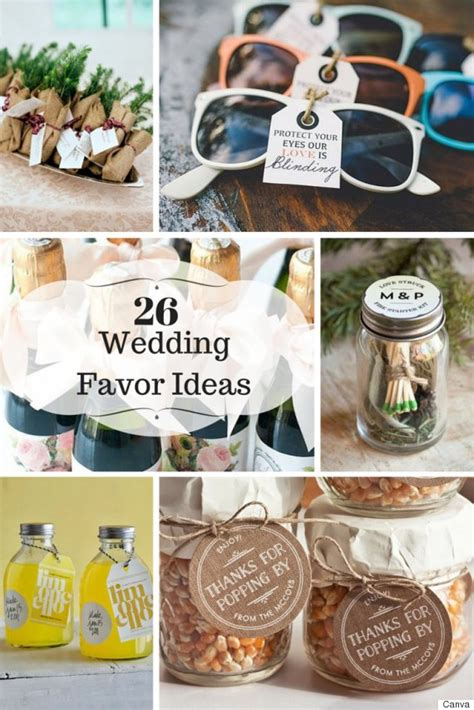 Wedding Gift Ideas Canada by 26 Wedding Favour Ideas Your Guests Will