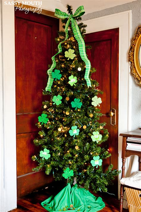 holiday tree st patricks day sassy mouth photography