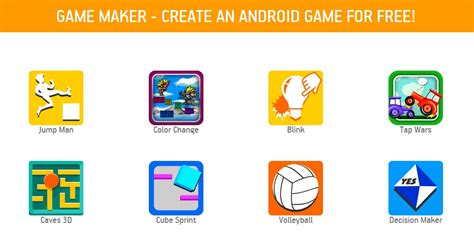 create a game app now 32 game templates to choose from