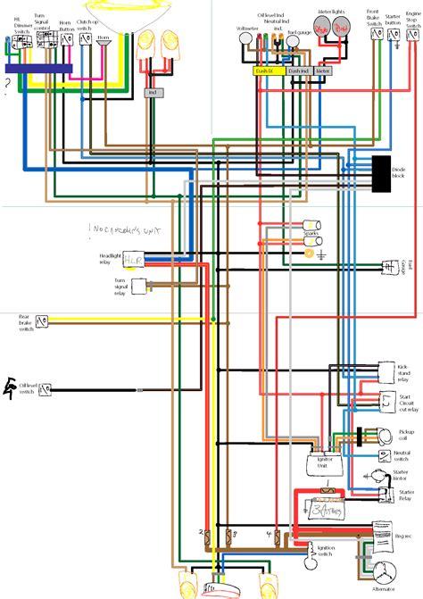82 yamaha xj750 maxim wiring diagram 82 get free image