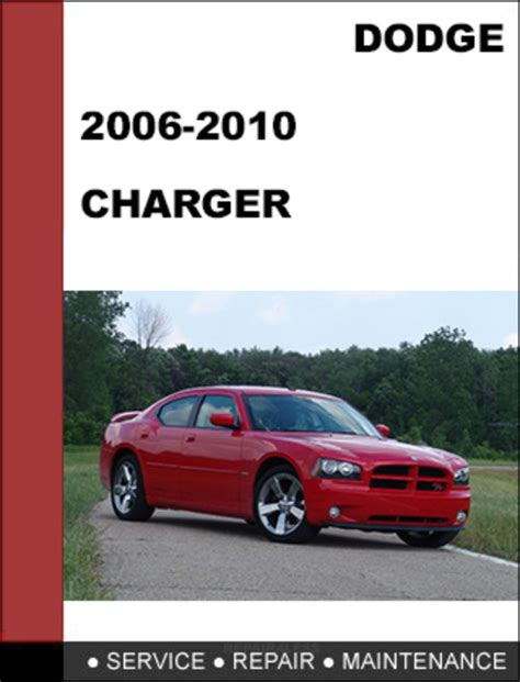 Dodge Charger 2006 2010 Factory Workshop Service Repair