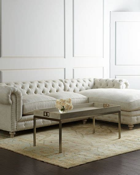 linen sofa sectional warner linen sectional sofa