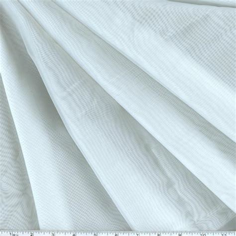 Window Sheer Fabric | hanes 118 window sheer voile white discount designer