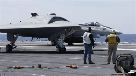 Space Army Bomber For u s navy s x 47b stealth drone launches from an aircraft carrier for the time as