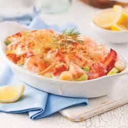 gratin de fruits de mer recettes cuisine et nutrition