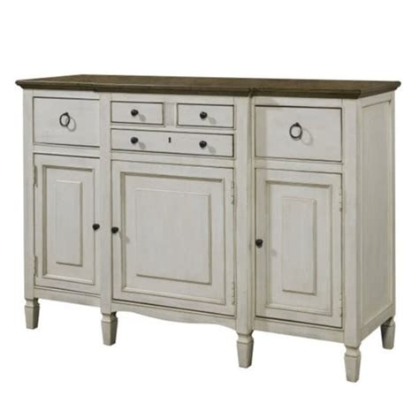 universal furniture summer hill serving buffet in cotton