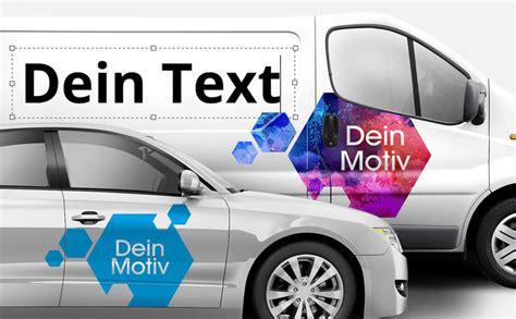 Aufkleber Auto Selber Machen by Autobeschriftung Online Selber Machen