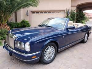 Rolls Royce Corniche Convertible For Sale 2000 Rolls Royce Corniche V Convertible For Sale On Car